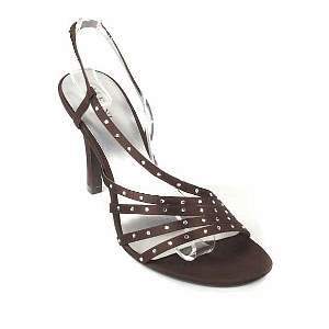 alfani brown splash heels