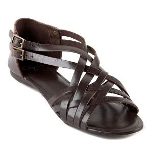 aqua brown sandals