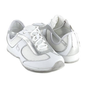 bebe white general sneaker 2