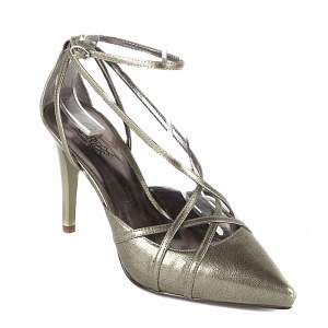 carlos by carlos santana gray vintage heels