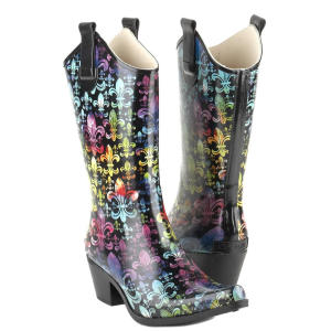 corkys black rodeo boots
