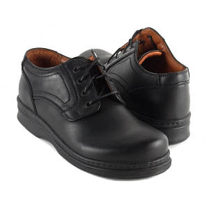 footprints black lawrence dress shoes