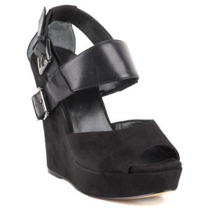 giles for nine west black polly heels