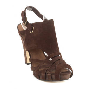 nine west brown favist heels