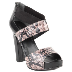 nine west brown stylin heels