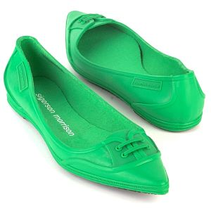 sigerson morrison green 5555 shoes