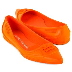 sigerson morrison orange 5555 shoes