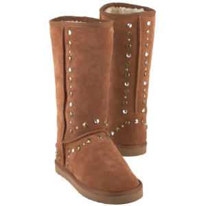 style co brown bolted boots
