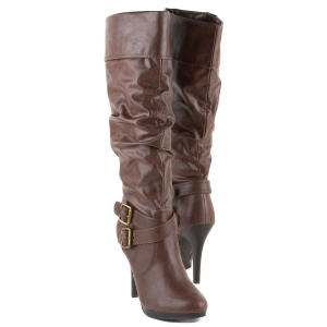 style co brown extreme boots