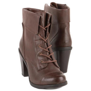 style co brown throttle boots