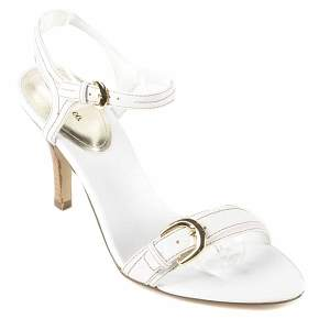 style co white farah heels