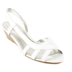 style co white gertrude heels